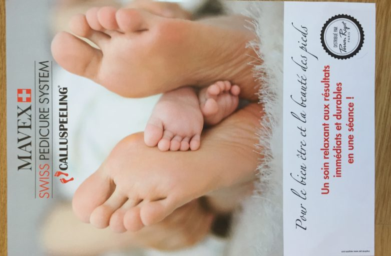 Callus peeling pour la douceur des pieds